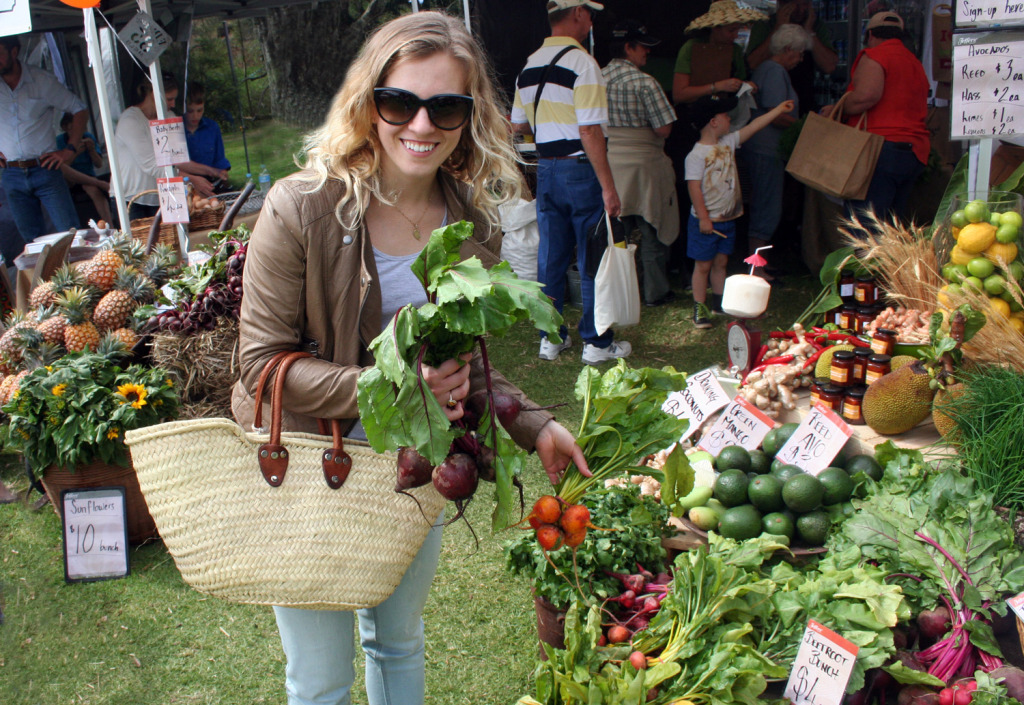 amy at sunshine coast real food festial