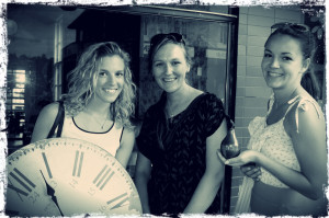 Eat Pray Workout Australia top health blogger Amy Darcy and friends at Anouk