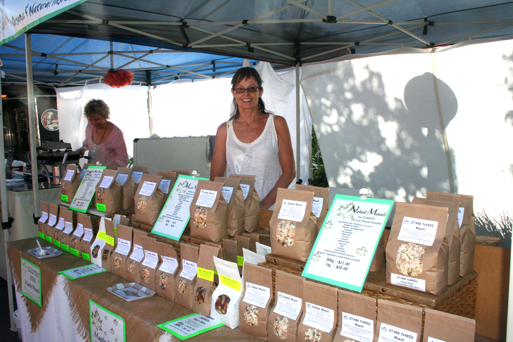Maple Muesli stall