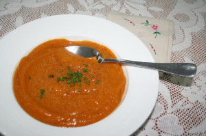 3 steps to a GOURMET pumpkin soup