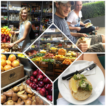 Eat Pray Workout Australia top health blogger Amy Darcy at the sourced grocer