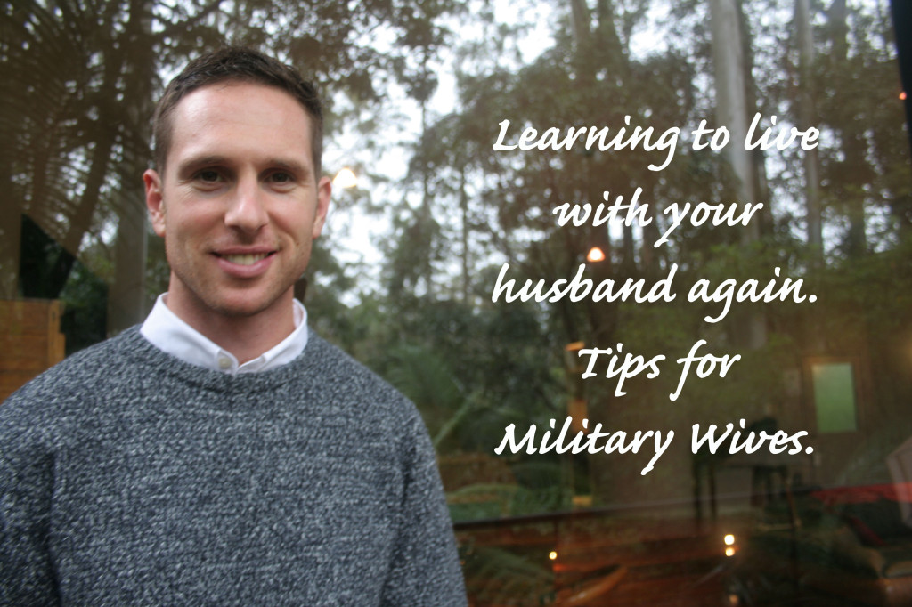 Learning to live with your husband again