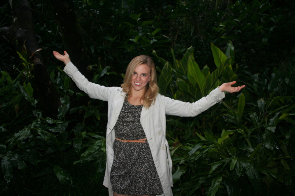 Amy at Pethers Rainforest Retreat