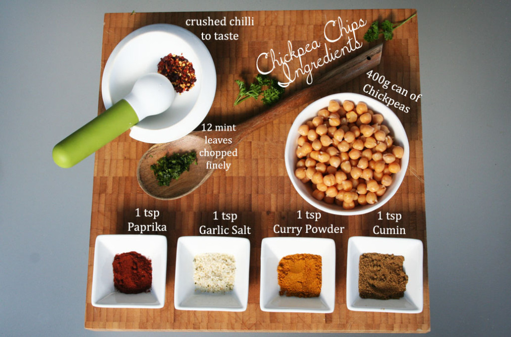 Chickpea Chips ingredients EPW