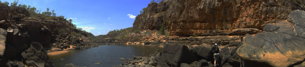 Katherine River Gorge Eat Pray Workout