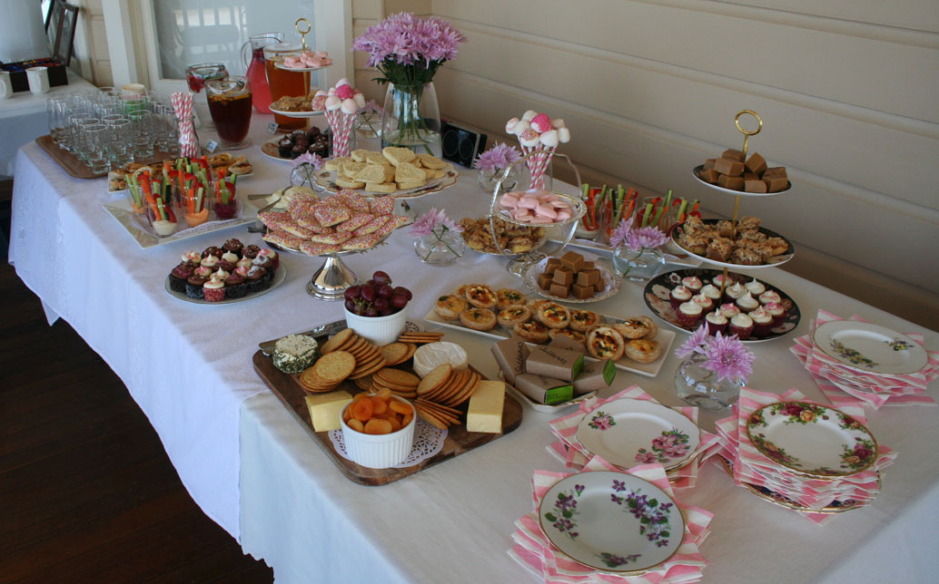 Mid Afternoon Baby Shower Food Ideas