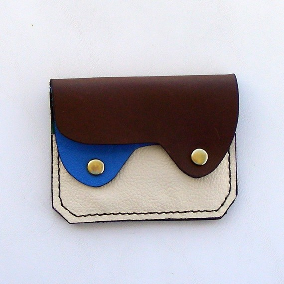 leather wallet etsy