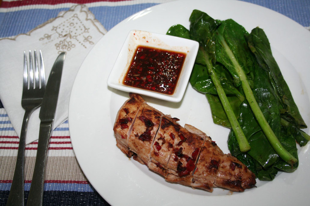 Tender Pork with Tangy Tamarind Chilli Sauce Hello Fresh Recipes and review