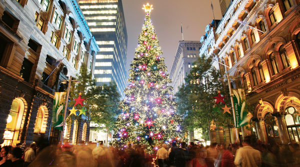 large-martin-place-christmas-tree - the gift that won't disappoint this christmas eat pray workout