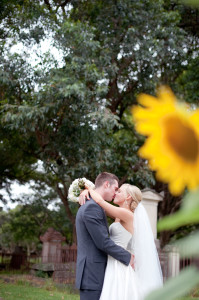 Eat Pray Workout Australia top health blogger Amy Darcy and Rees wedding photo