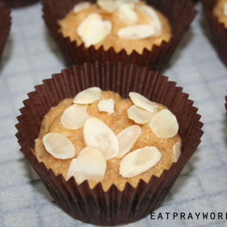 banana bread muffins high protein gluten free sugar free 2 copy