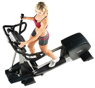 Cross-trainer-machine