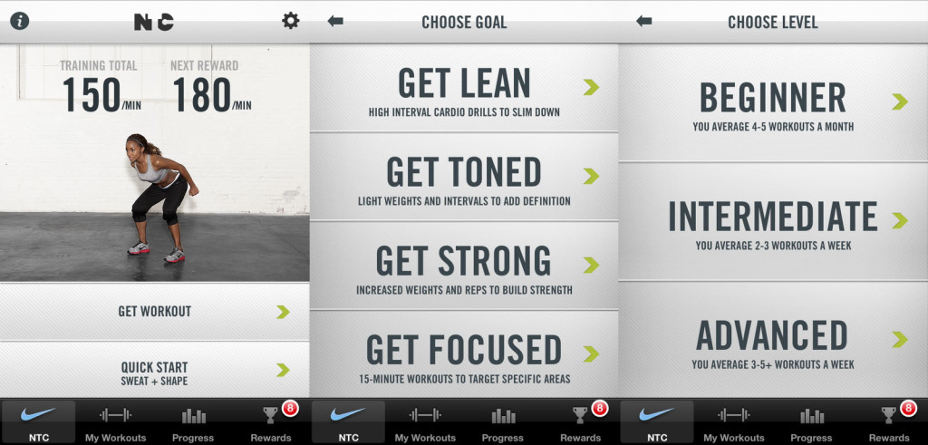 nike-training-club-app best fitness apps eat pray workout