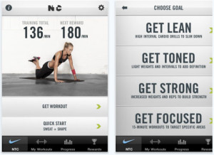 nike training fitness app