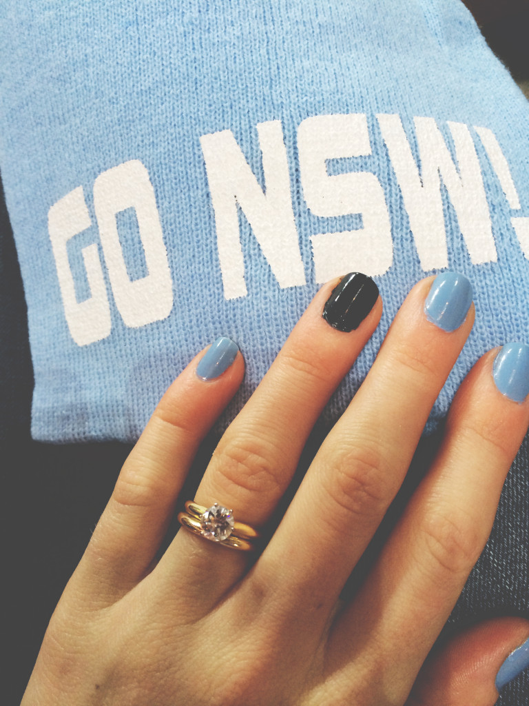 NSW State of Origin nails Eat pray workout NRL football