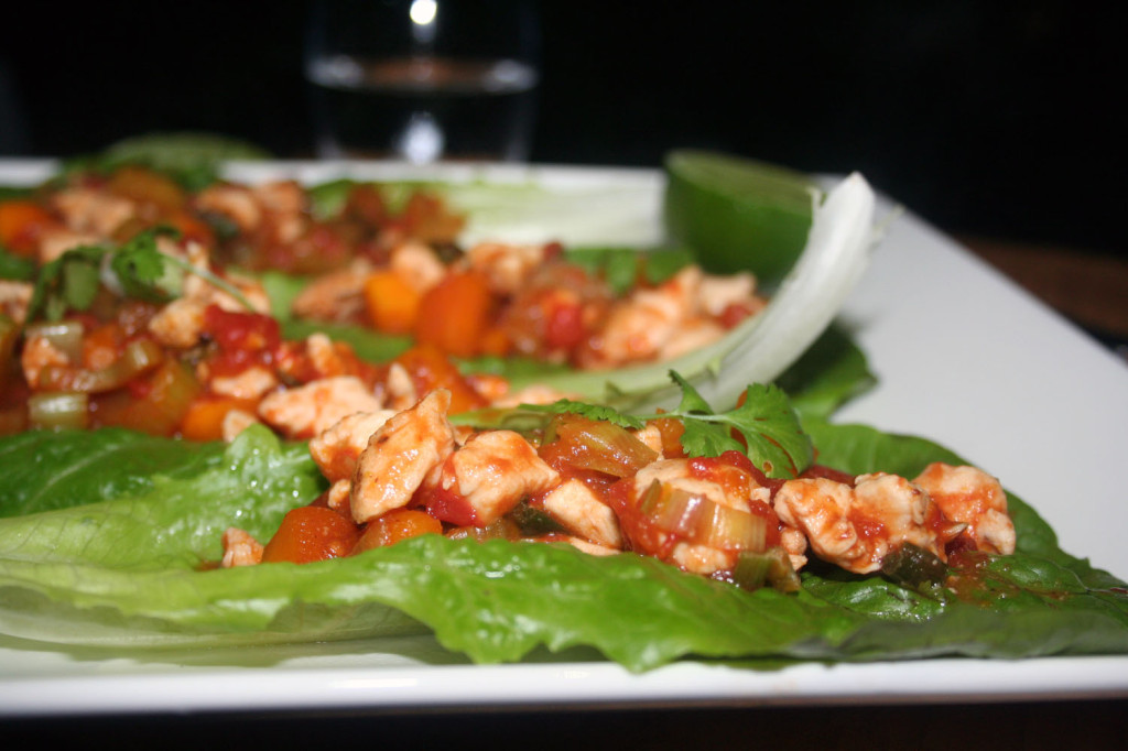 portuguese chicken lettuce wraps 2
