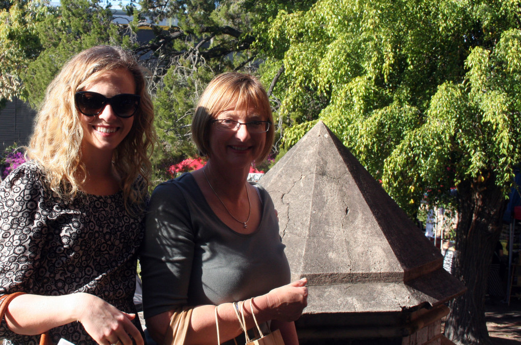 mum and i at finders keepers markets