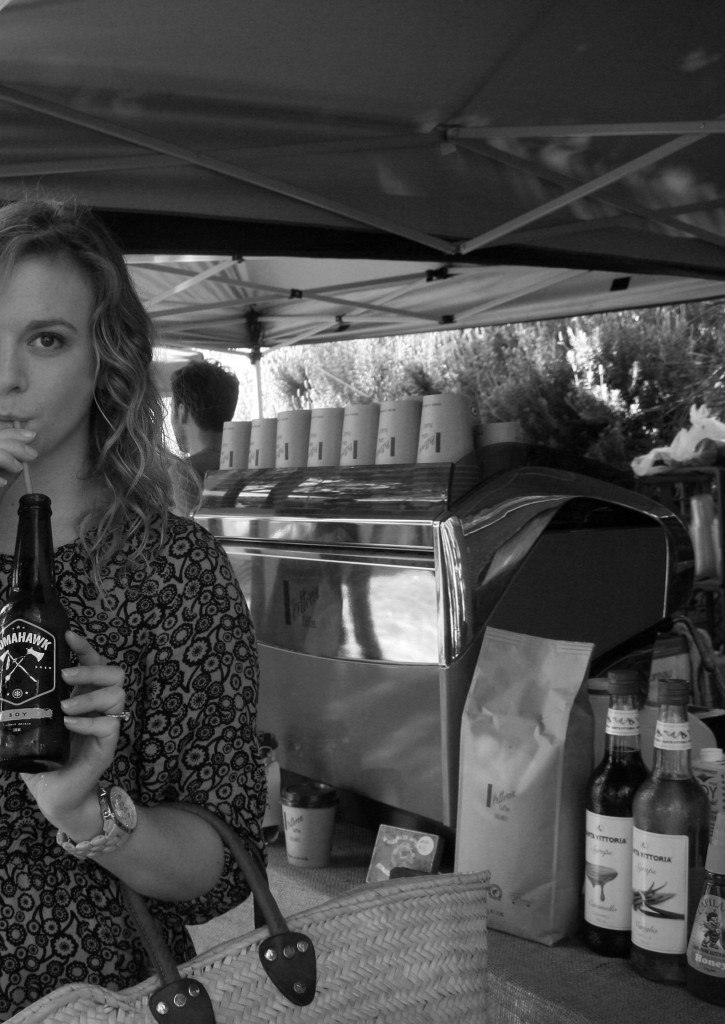 soy cold press coffee at finders keepers markets