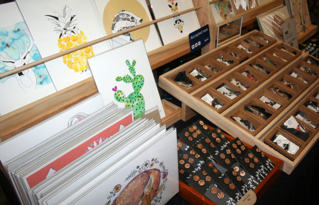 watercolour prints at finders keepers markets
