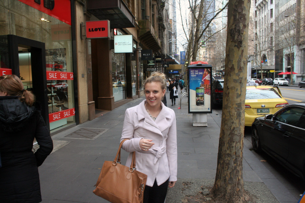 amy darcy in melbourne eat pray workout