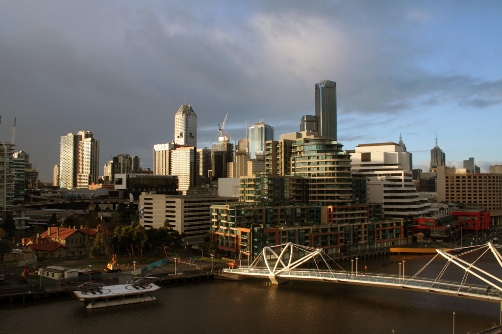 melbourne view from south wharf hilton eat pray workout