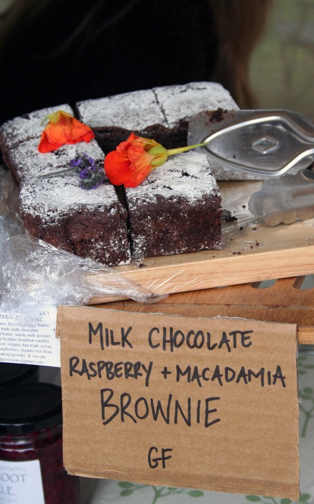 Brownies from Sunshine Coast Real Food Festival eat pray workout