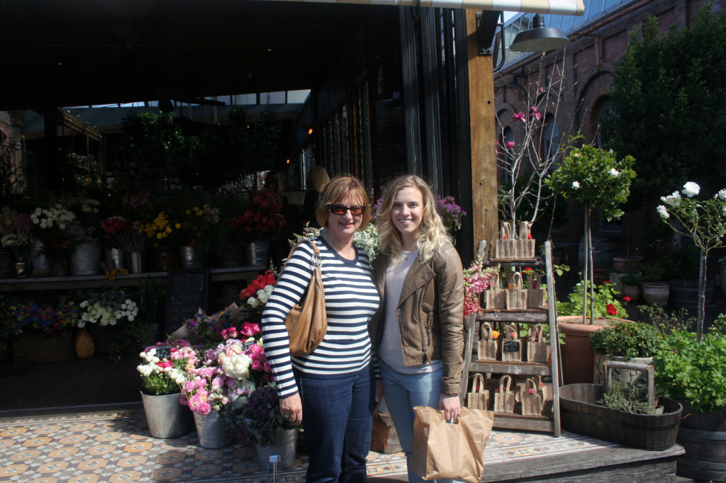 Grounds of Alexandria Flower Shop Amy and Mum