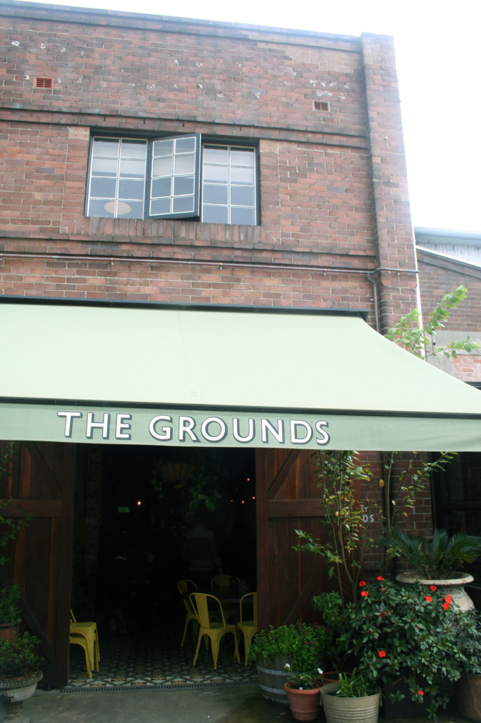 Grounds of Alexandria cafe Eat Pray Workout
