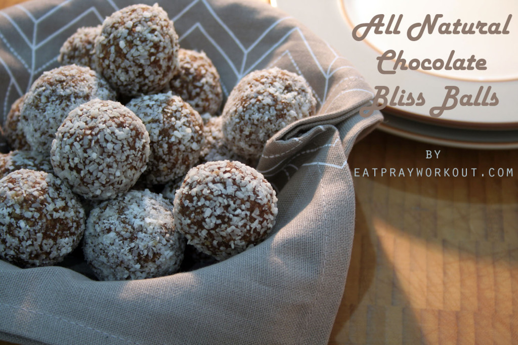 Chocolate Bliss Balls Recipe - A Healthy Alternative Boost's Chocolate Protein Balls