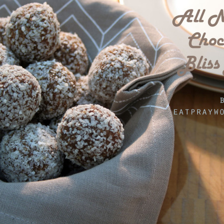 all natural chocolate bliss balls 1