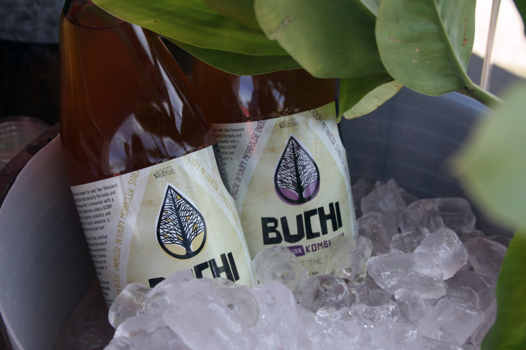 buchi kombucha real food festival eat pray workout
