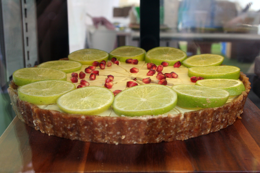 raw key lime pie sunshine coast real food festival eat pray workout