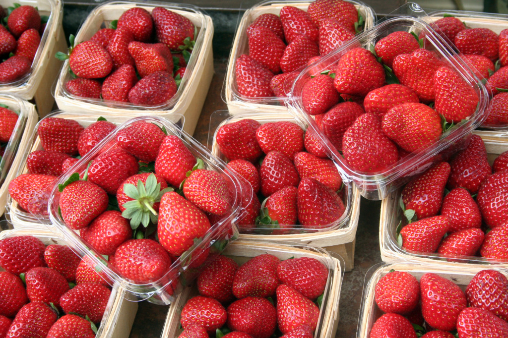 Grounds of Alexandria Strawberry punnets eat pray workout