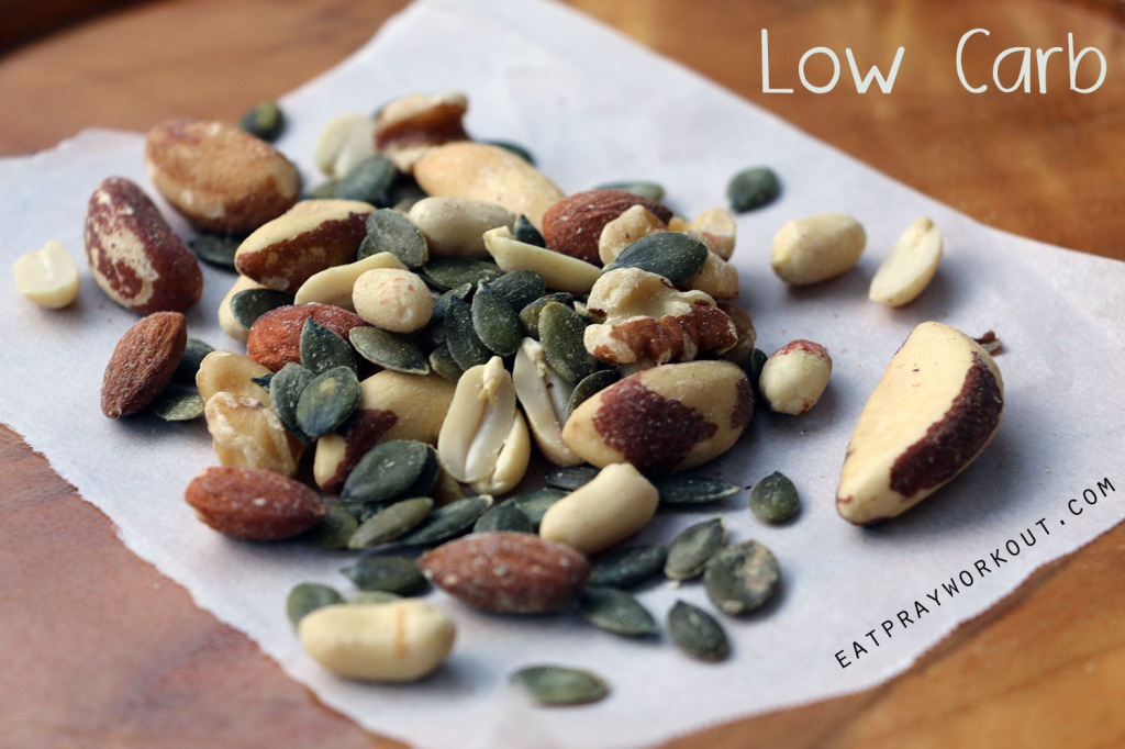low carb nut mixes