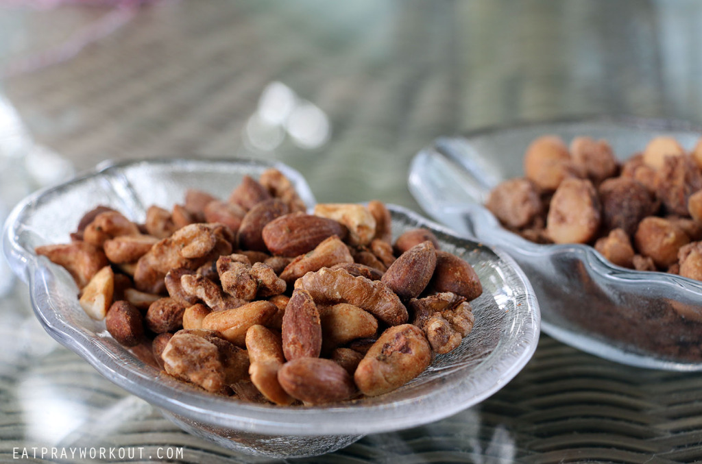 spiced nuts christmas gift eat pray workout