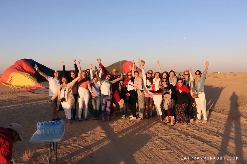 Hot-air Ballooning Dubai Eat Pray Workout 1 copy