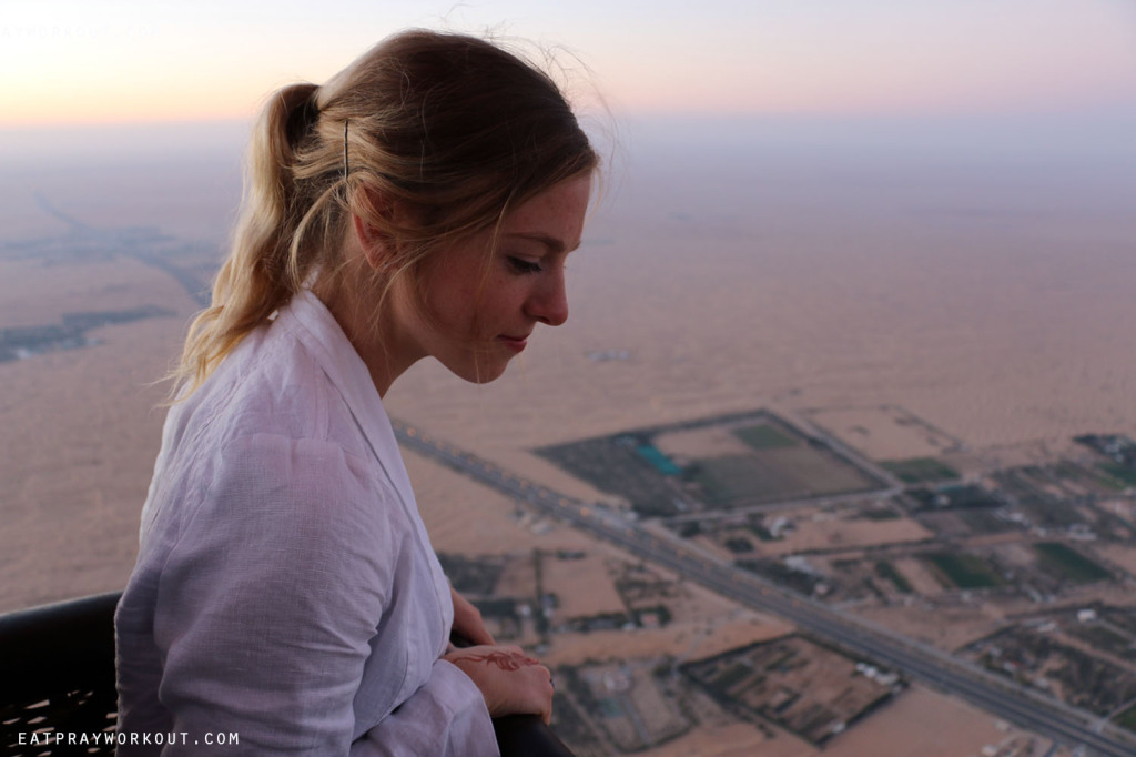 Hot-air Ballooning Dubai Eat Pray Workout 13