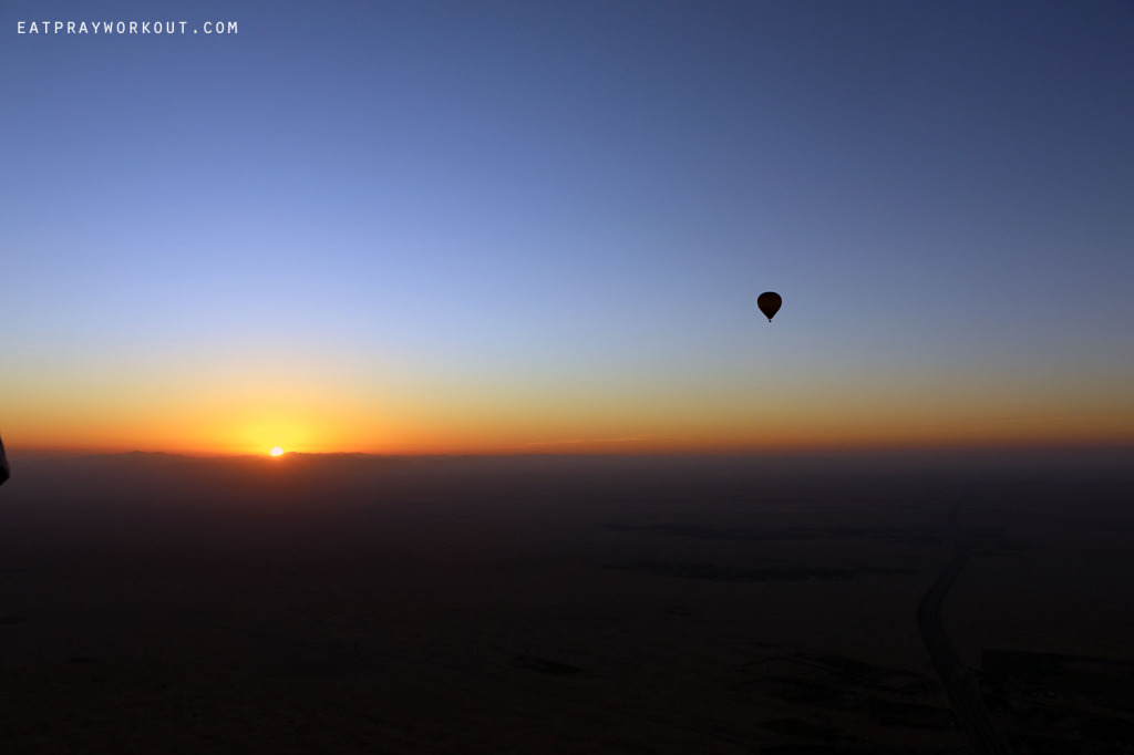 Hot-air Ballooning Dubai Eat Pray Workout 18