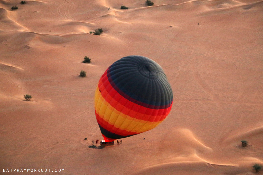 Hot-air Ballooning Dubai Eat Pray Workout 6 copy