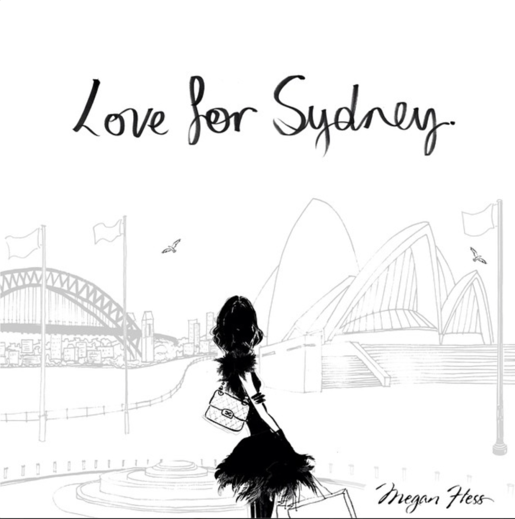 Love for Sydney - Megan Hess