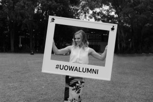 Amy Darcy Eat Pray Workout university of Wollongong alumni #UOWALUMNI