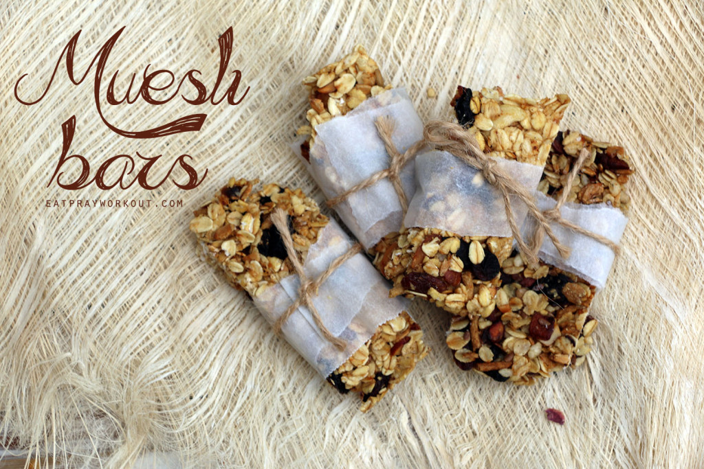 Muesli bar recipe eat pray workout 2