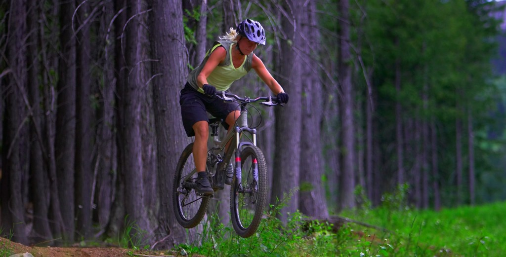 Mountain biking eat pray workout