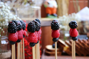 Berry Skewers at Vida downtown Dubai picnic