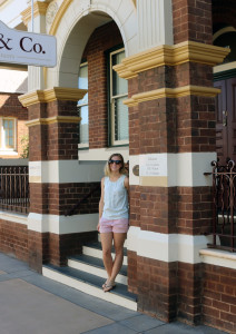 Embarrassing the family, playing tourist in Temora