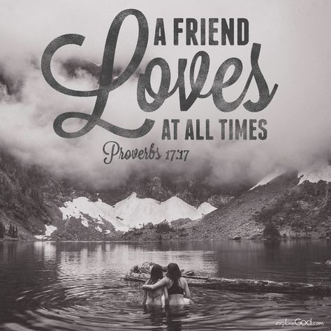 a friend loves at all times provers 17:17