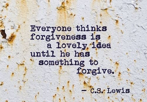 forgiveness cs lewis eat pray workout