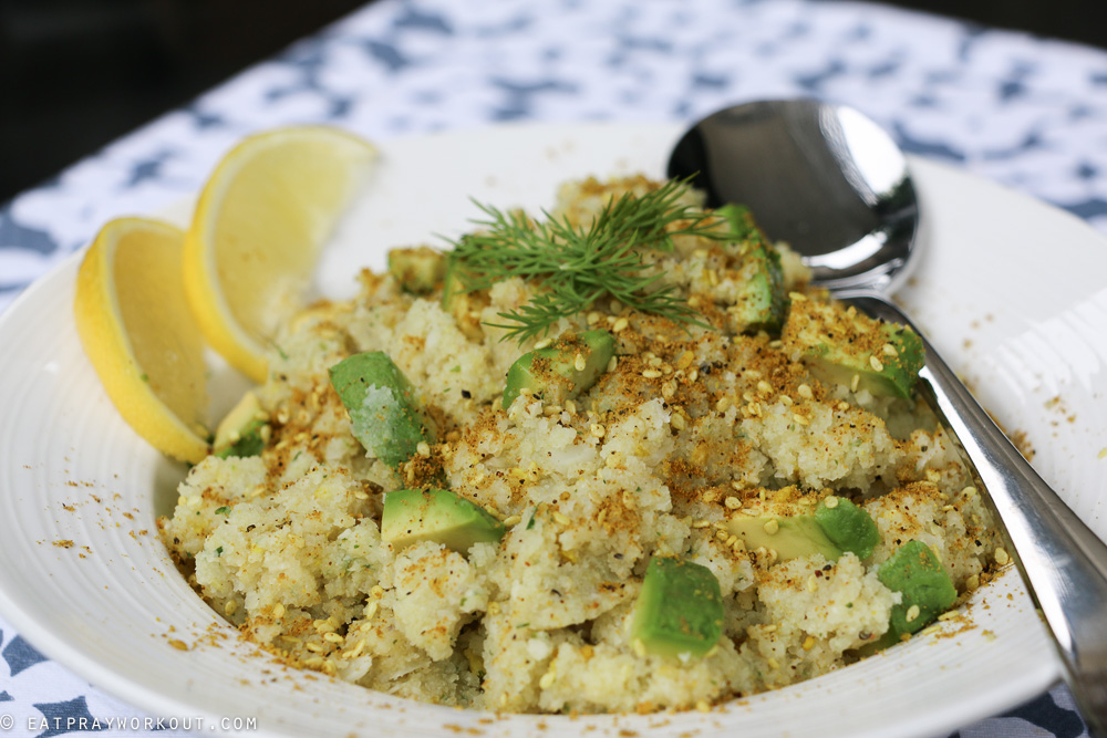 Spiced Cauliflower Mash Eat Pray Workout-4