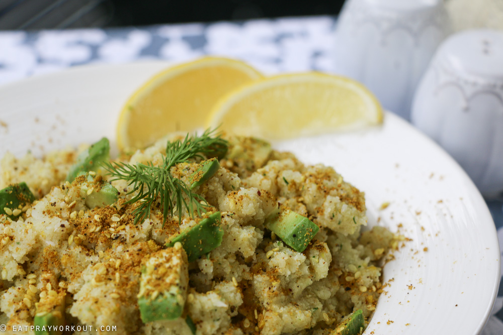 Spiced Cauliflower Mash Eat Pray Workout-8