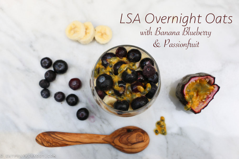 2 LSA Overnight Oats with Banana blueberry and passionfruit-8